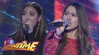 Video It's Showtime: Morisette and Tanya's vocal showdown MP3, 3GP, MP4, WEBM, AVI, FLV Juni 2018