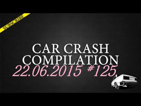 Car crash compilation #125 | Подборка аварий 22.06.2015