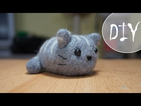 Kawaii Kitty filzen ~ (DIY / Tutorial)