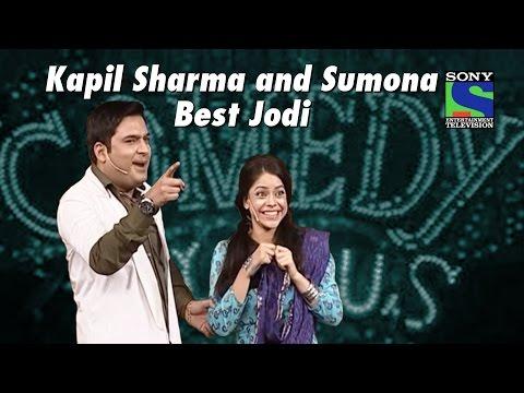 Kapil Sharma-Sumona | Naughty Humor | Comedy Circus (видео)