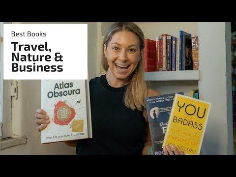 Alice's Best Books for Travel,  Nature lovers & Entrepreneurs