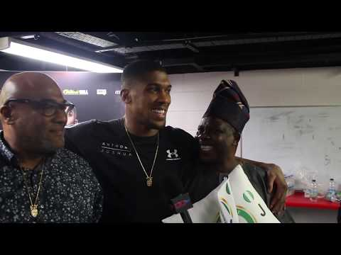 Anthony Joshua With Gov Of Ogun State