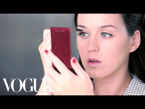 vogue - How does one of the world's brightest pop stars get ready for the red carpet? Starting without a stitch of makeup, Katy Perry reveals her big-night beauty ro...