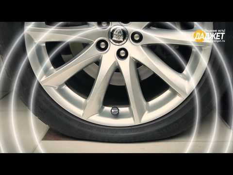 Контроль давления в шинах автомобиля устройство фото