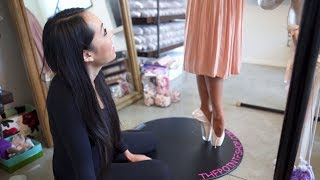 Video First Pair Of Pointe Shoes! What Happens At A Fitting I @MissAuti ft. ThePointeShop MP3, 3GP, MP4, WEBM, AVI, FLV September 2018
