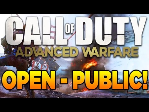 open - Call of Duty: Advanced Warfare OPEN TO THE PUBLIC! (COD AW Multiplayer Free To Play) 200 Likes? - Subscribe and join the #QuadSquad! ▻Subscribe Here: http://www.tinyurl.com/SubQuad ▻My...