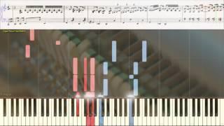 Solo Jazz Piano Improvisation - Robert Dimbleby (Ноты и Видеоурок для фортепиано) (piano cover)