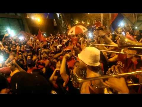 Así celebra la Poderosa Hinchada la clasificación - Rexixtenxia Norte - Independiente Medellín