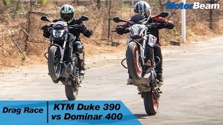 Nonton Ktm Duke 390 Vs Dominar 400   Drag Race   Motorbeam Film Subtitle Indonesia Streaming Movie Download