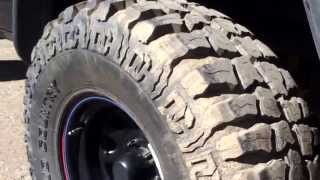 Here is a quick little review on the dick Cepek mud country tires! I got these around the end of December and have taken them to many different wheeling areas; mud, snow, ice, rocks. They do pretty damn great in mud and have a little trouble in snow, but they still manage to get the job done just fine! Please ask questions below if you have any questions about things I may have missed in the video! Subscribe for the regular videos! Thank you!