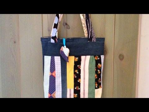 come realizzare una borsa in patchwork