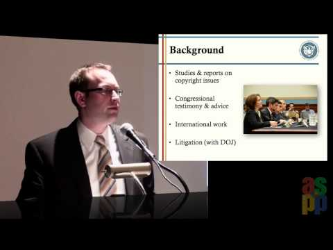 The New Copyright Economy Keynote Address, Part 1