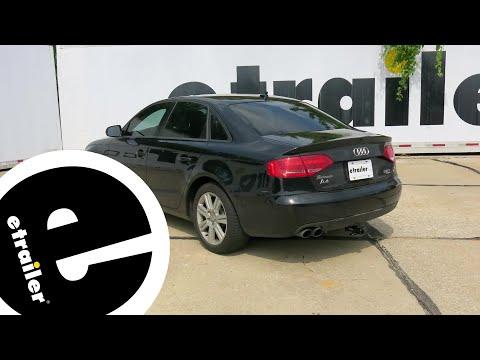 etrailer | Trailer Hitch Installation - 2011 Audi A4 - Curt