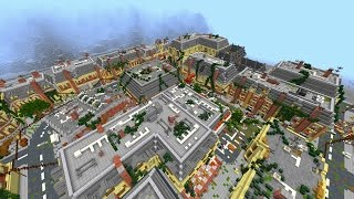 Minecraft: NEW Apocalyptic City Building Project #1 Introduction