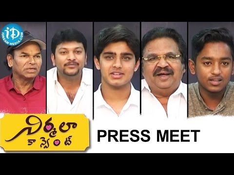 Nirmala Convent Press Meet | Dasari Narayana Rao