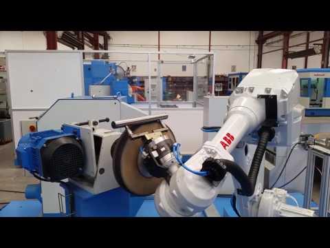 Autopulit - polerowanie detalu za pomocą robota