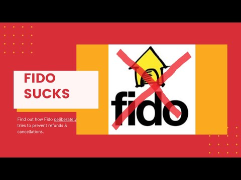 Fido Sucks: How Canada's Worst Mobile Company Sabotages It's Customers