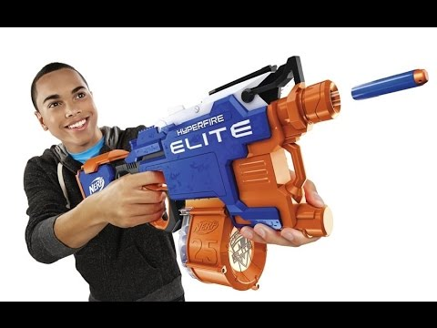 New Nerf Guns For Fall 2016 and Winter 2017