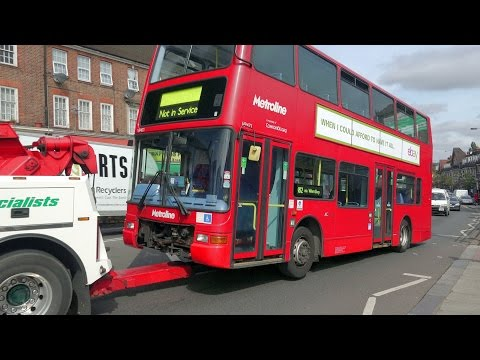 London Buses - Edgware and Golders Green, September 2015 (видео)
