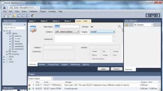 SQL UNION Operator Tutorial With MySql Workbench
