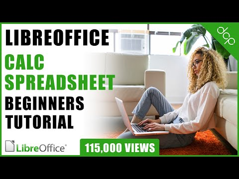 Libre Office Calc Spreadsheet Beginners Tutorial