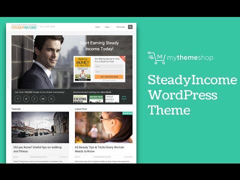 SteadyIncome WordPress Theme by MyThemeShop