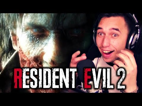 LEON REBORN!!| [#E3] Resident Evil 2 REMAKE REVEAL REACTION!!