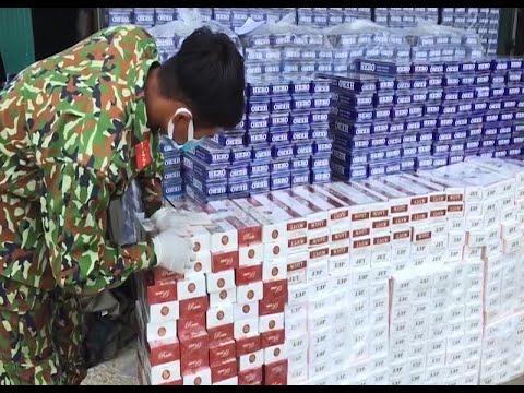 Kiên Giang: Triệt phá đường dây buôn lậu thuốc lá bằng đường biển từ Campuchia vào Việt Nam