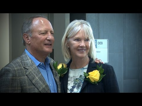 Video thumbnail: John and Shirley Berry commit $1.5 million to student success initiatives at Wright State