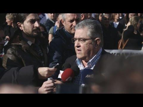 Συλλαλητήριο του ΠΑΜΕ ενάντια στο Πολυνομοσχέδιο
