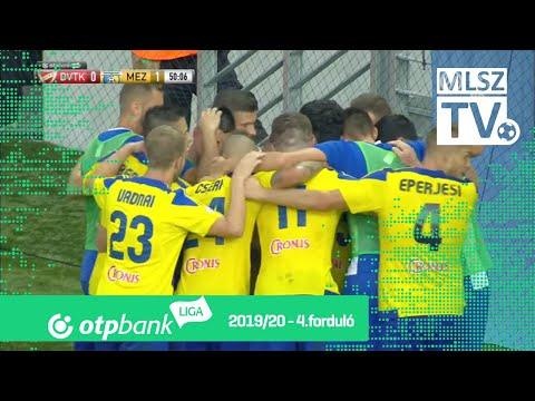 4. forduló: DVTK - Mezőkövesd 0-3 (0-0)