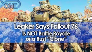 """Video Leaker Says Fallout 76 is NOT Battle Royale or a Rust """"Clone"""" MP3, 3GP, MP4, WEBM, AVI, FLV Juni 2018"""
