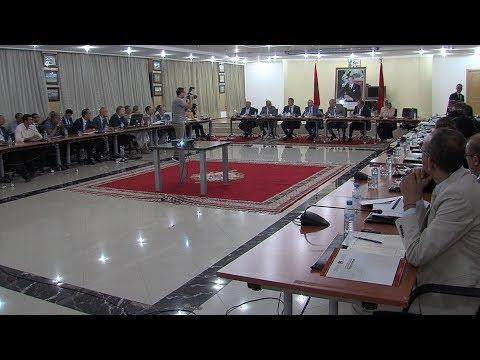 اجتماع اللجنة الإقليمية للمبادرة الوطنية للتنمية البشرية بولاية الرباط