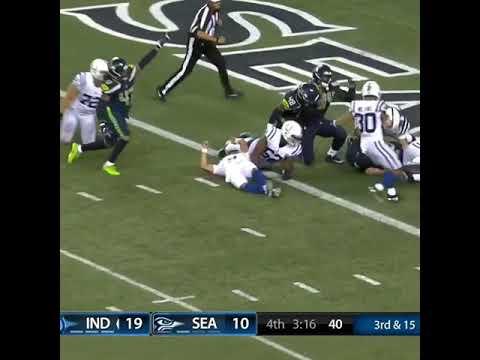 Colts VS Seahawks