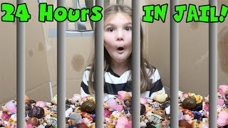 24 Hours In Box Fort Jail With ALL My LOL Dolls! 24 Hours Overnight In Box Fort Jail Challenge!