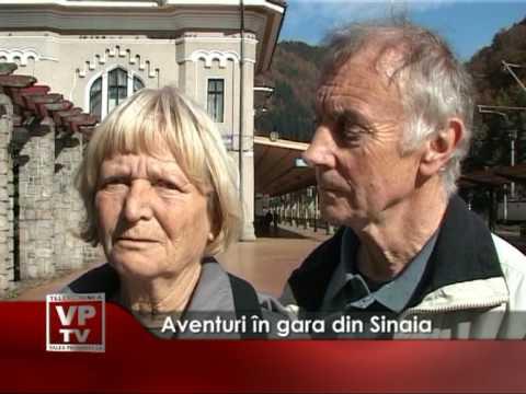 Aventuri in gara din Sinaia