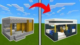 Minecraft Tutorial: How To Transform a Village Blacksmith Into A Modern Blacksmith