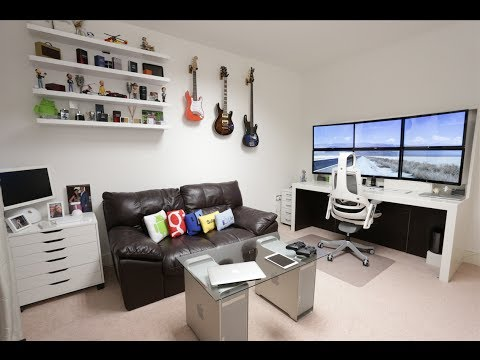 setup - Is this the best setup on youtube ? 6 27 inch screens. Custom white desk. Late 2013 10 core 64gb d700 mac pro. mackintosh pro 4k Earn totally free money here...