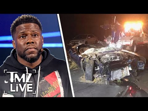 Kevin Hart Suffered 3 Spinal Fractures and Still in Intense Pain | TMZ Live