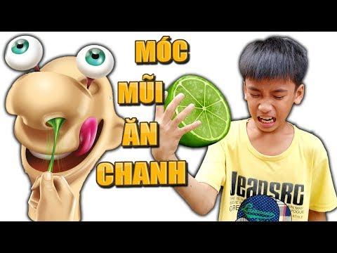 Tony | Trò Chơi Móc Mũi Ăn Chanh - Gooey Louis - Thời lượng: 11 phút.