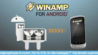 Winamp YouTube video