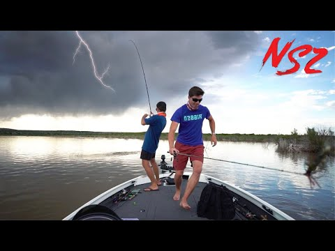 Crazy Storm STRIKES While Fishing MYSTERY Lake (Never Stop Tour Pt. 5)