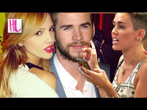 Liam - Eiza Gonzalez is the new girlfriend of Liam Hemsworth and Miley Cyrus is reportedly texting Liam nonstop after he was spotted kissing Eiza. Subscribe! http:/...
