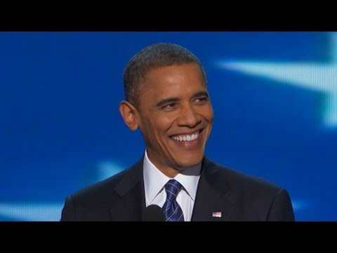 President Barack Obama DNC Speech Complete: Romney in 'Cold War Mind-Warp' - DNC 2012