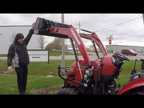 Yanmar Test Drive; Thinking of Buying A New Larger Compact Tractor, Things to Consider
