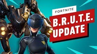 Fortnite Nerfs B.R.U.T.E. in Balance Update by IGN