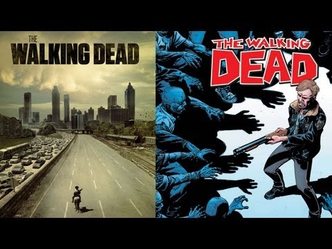 The Walking Dead Comic Extravaganza! Plus the Walking Dead Comic Vs. the Hit TV Show.