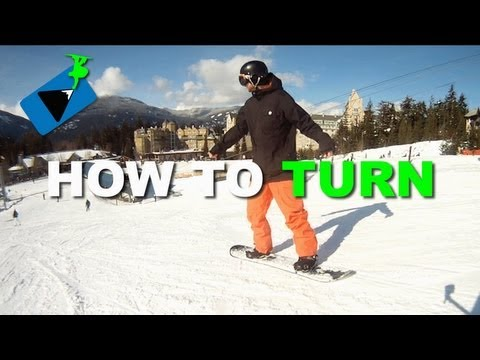 How to Turn on a Snowboard – How to Snowboard