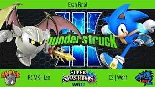 RZ | MK Leo (Meta Knight) vs. CS | Wonf (Sonic) – Grand Finals of Thunderstruck III