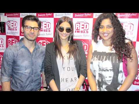 Sonam Kapoor and Fawad Khan promote Khoobsurat at